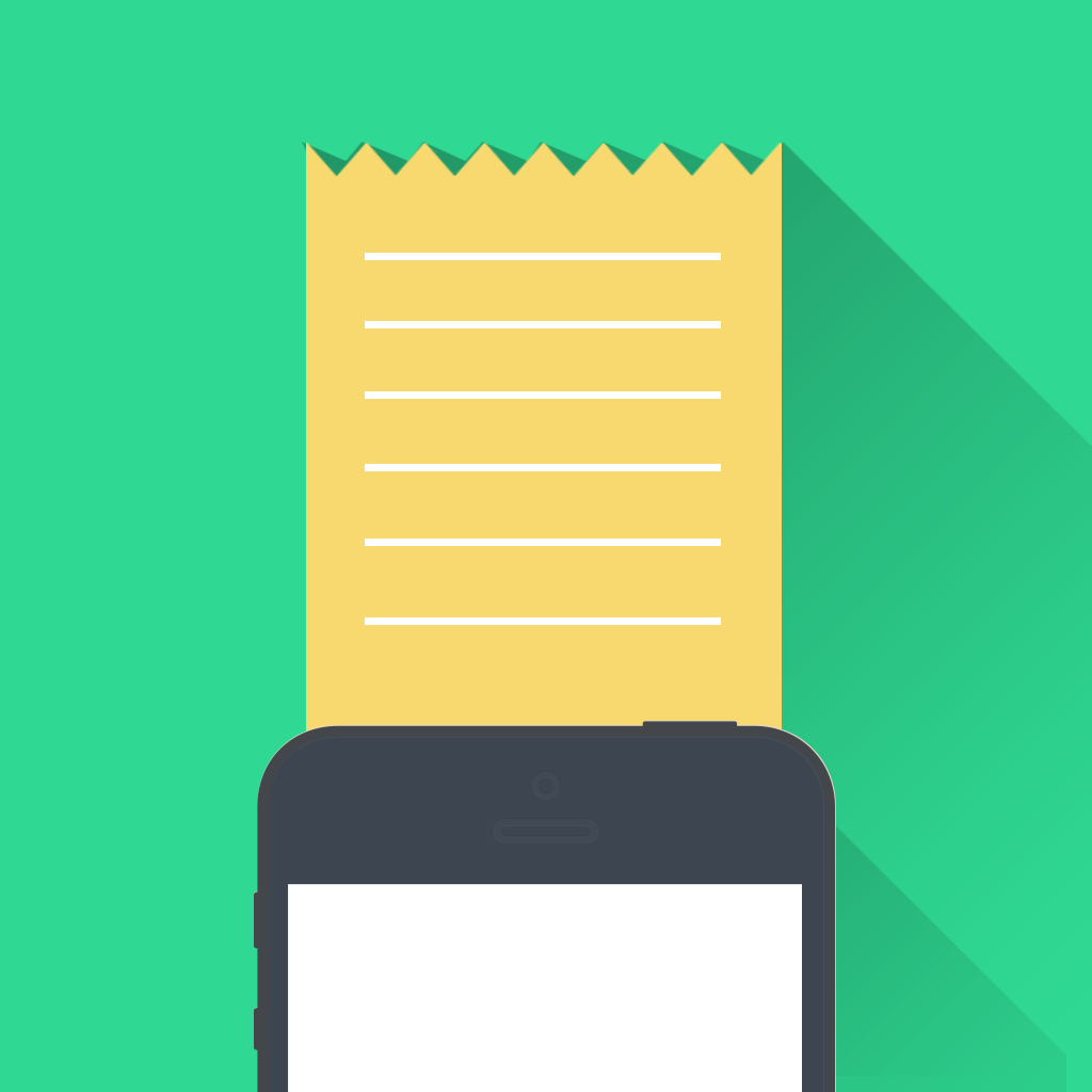 Receipts Collector by Xuan ZHONG icon